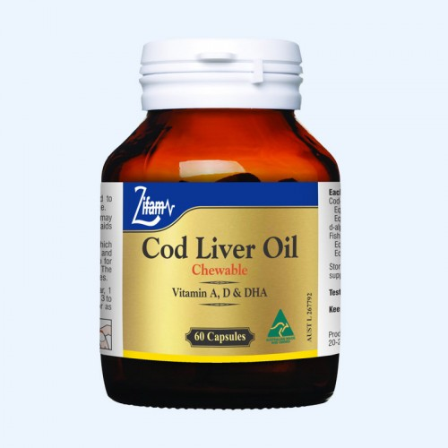 Zifam Cod Liver Oil Chewable